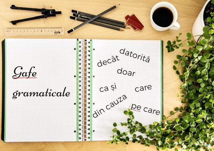 gafe gramaticale